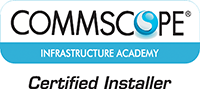 Commscope Infrastructure Academy Certified Installer Logo